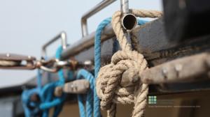 Wallpaper Boot mit Seilen